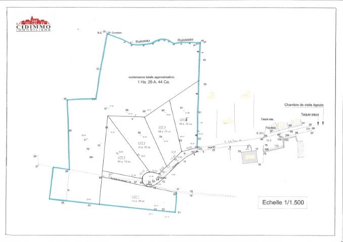 Terrain à bâtir - Florennes Morialmé - #2660641-0